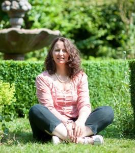 Me in the Garden